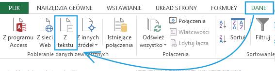 Import danych do PowerPivot_24
