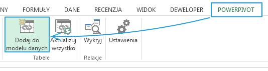 Import danych do PowerPivot_4