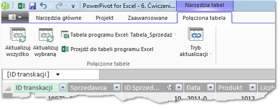 Import danych do PowerPivot_5