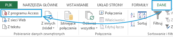 Import danych do PowerPivot_7