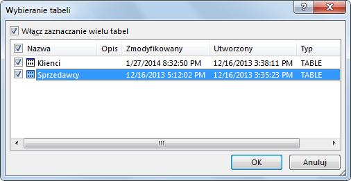 Import danych do PowerPivot_8