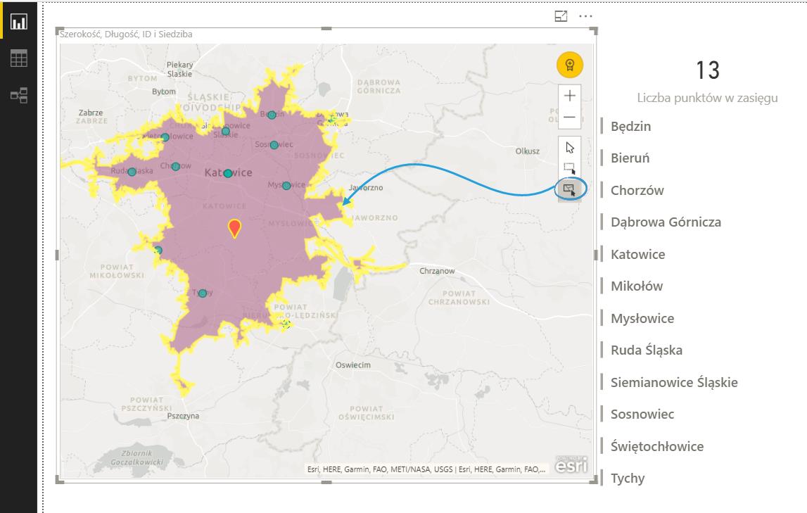 Mapy W Power BI Cz 2 ArcGIS Maps Excel BI Power Query Power