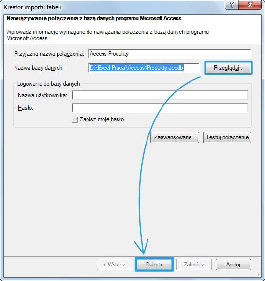 Import danych do PowerPivot_12