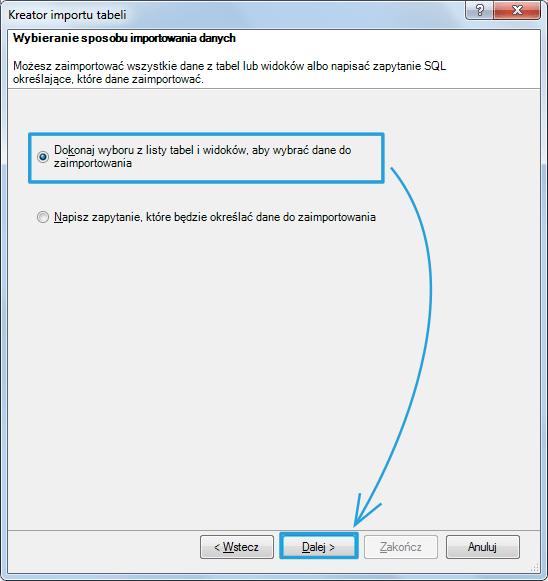 Import danych do PowerPivot_13