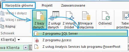 Import danych do PowerPivot_20