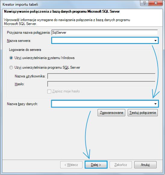 Import danych do PowerPivot_21
