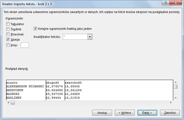 Import danych do PowerPivot_27