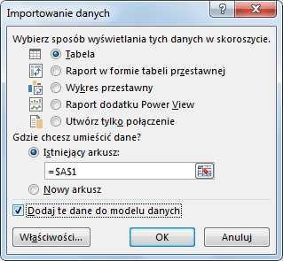 Import danych do PowerPivot_28