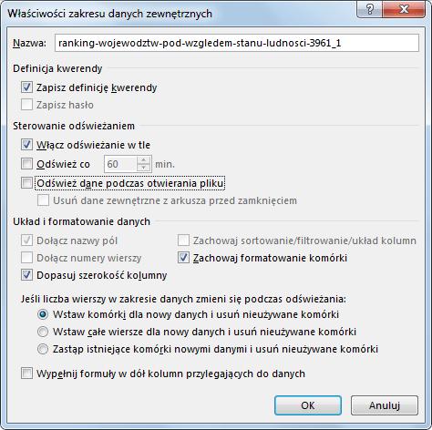 Import danych do PowerPivot_37