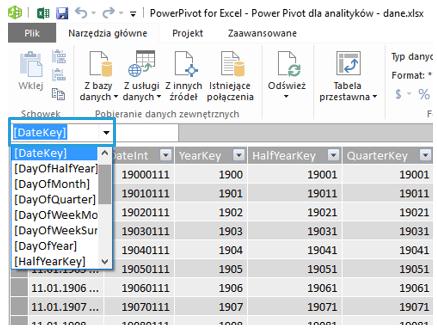 Power Pivot - wskazowka 8