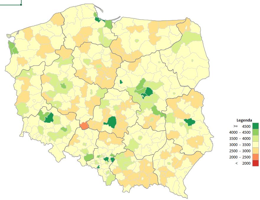 Jak Wgrać Własne Regiony I Wszystkie Powiaty Do Mapy 3d Power Map